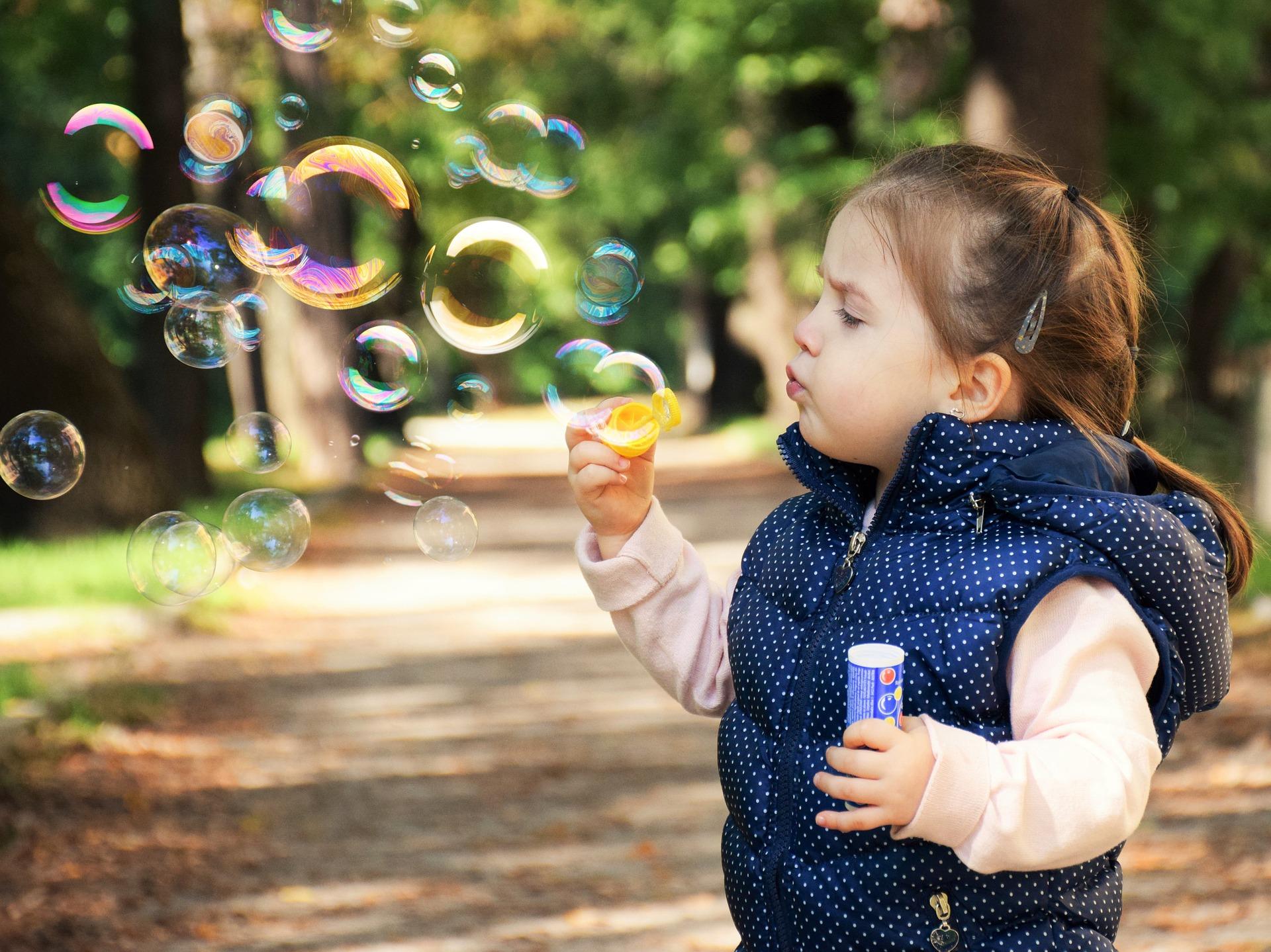 Concours de bulles de savon